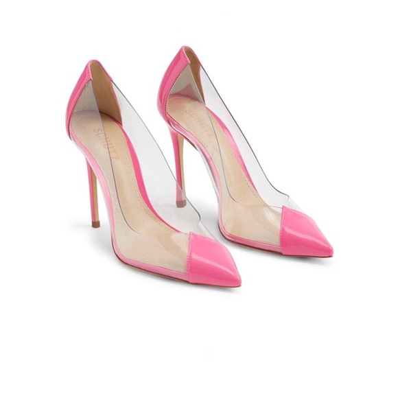 7b1b355487 SCHUTZ Shoes | Cendi Hot Pink Neon Pump High Heel 8 Brazil | Poshmark